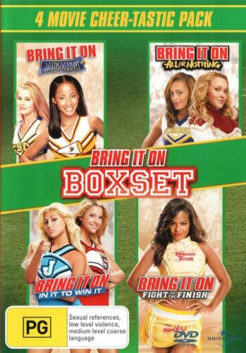 Bring It On: 4-movie Collection DVD Boxset R4