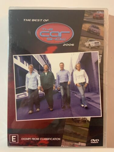 The Best Of The Car Show 2006 (DVD, 2007) New And Sealed
