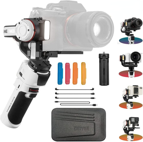 Zhiyun Crane M2 3-Axis Handheld Gimbal for Sony A6000/A6300/A6400 GoPro 7/6/5 <br/> Official Dealer✔ California in Stock✔ 1-Year Warranty✔