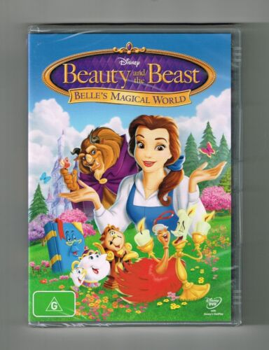 Beauty And The Beast - Belle's Magical World Dvd Disney Brand New & Sealed