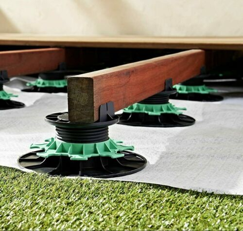 Jouplast Adjustable Decking risers -  Decking / Timber Support - Easy Quick Deck