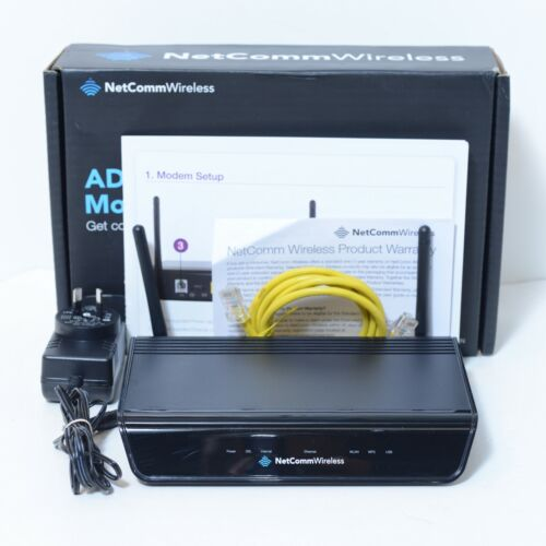 NETCOMM ADSL2+ Wireless Modem Router N300 NB604N, VGC, TESTED & Working!
