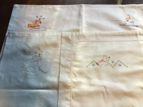 Vintage Baby Pillowcases 3