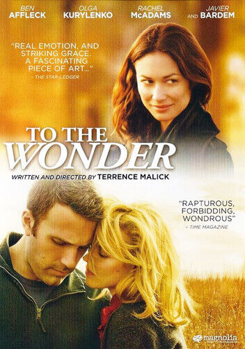 To the Wonder DVD NEW