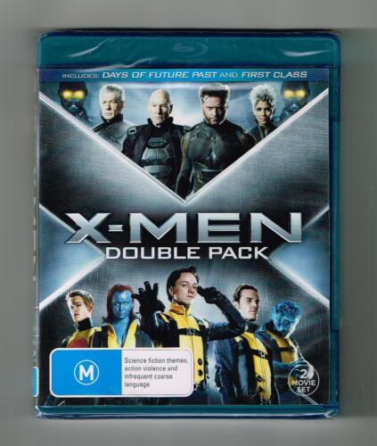 X-Men First Class / X-Men Days Of The Future Past Blu-ray 2-Disc Set New &Sealed