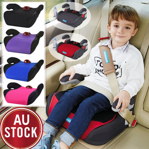 Car Booster Seat Chair Cushion Pad For Toddler Children Kids 3-12 Years Sturdy <br/> 3 Years Guarantee✔✔✔ AU STOCK✔ EU Safety Certificate✔✔✔