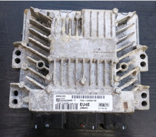 ECU Engine FORD 7G91-12A650-SE, 5WS40588E-T <br/> 100%WORKING/ DELIVERY UPS 1-2DAYS THE WHOLE WORLD