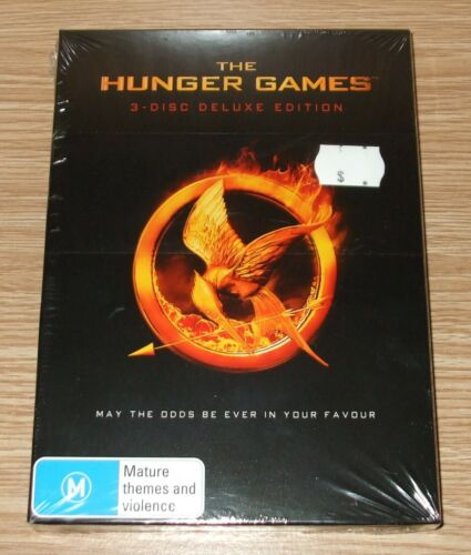 The Hunger Games Dvd 3-Disc Deluxe Edition - Brand New & Sealed