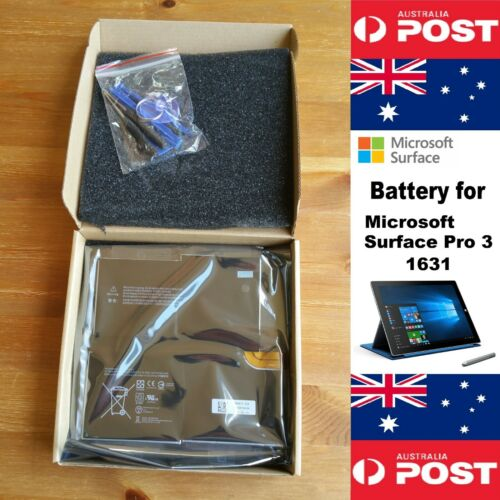 Battery for Microsoft Surface Pro 3 1631 Series 5547mAh and tools - Local Seller