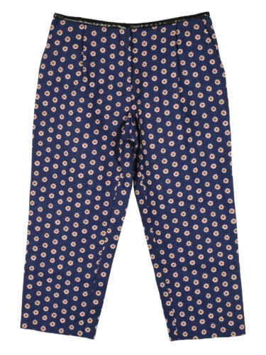 Mulberry tapered polka petal trousers