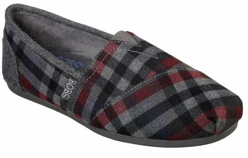 Skechers BOBS PLUSH-COUNTRY SIDE Womens Gray/MT 32658/GYMT Shoes