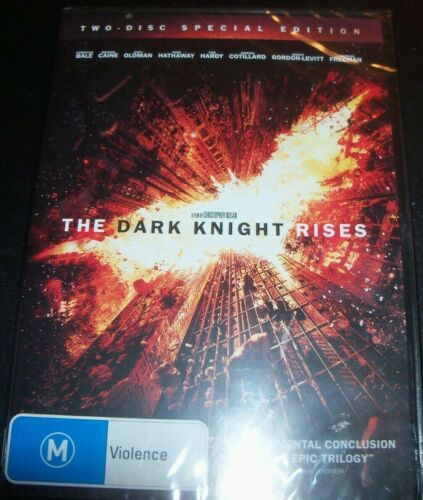 The Dark Knight Rises - Two-Disc Special Edition (Australia Region 4) DVD – New