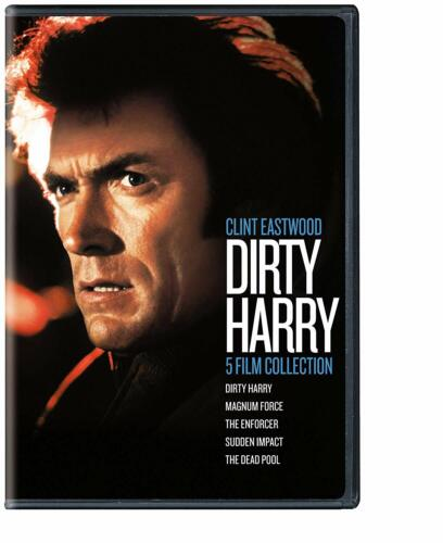 Dirty Harry 5 Film DVD Collection Clint Eastwood Enforcer Magnum Force Dead pool