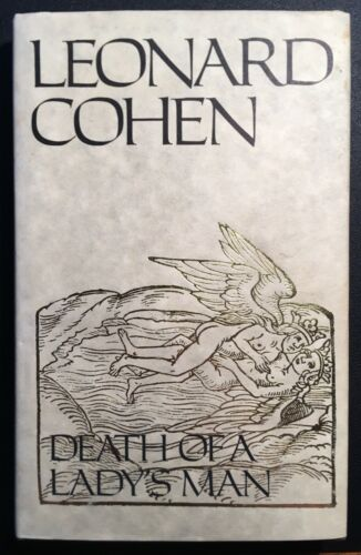 SIGNED Leonard Cohen DEATH OF A LADY'S MAN 1979 First Edition Poetry Hallelujah