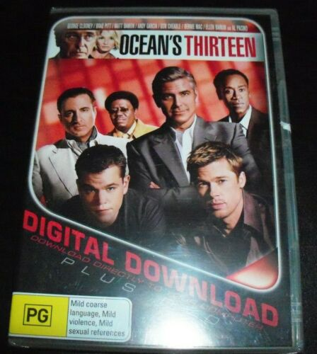 Ocean's / Oceans Thirteen 13 (George Clooney) (Australia Region 4) DVD NEW