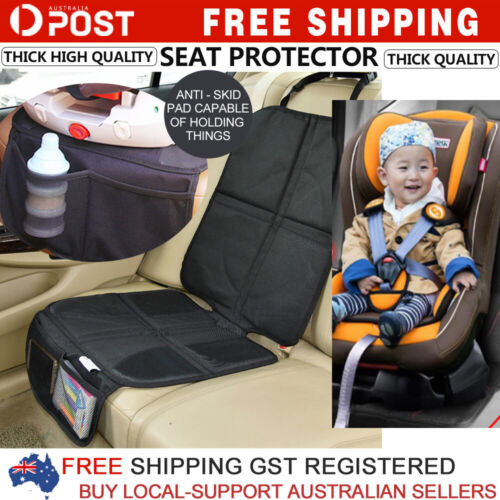 Baby Car Seat Protector Mat Covers Under Child Seat Leather Saver Car Cover New