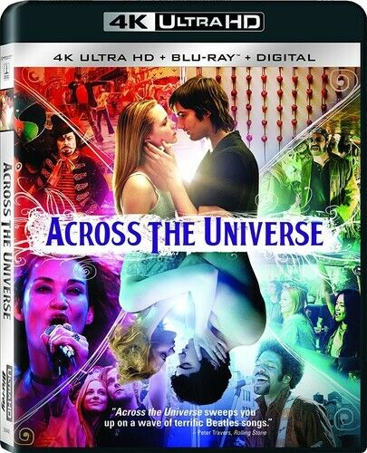 Across the Universe (2 Disc, With Blu-ray) 4K ULTRA HD BLU-RAY NEW