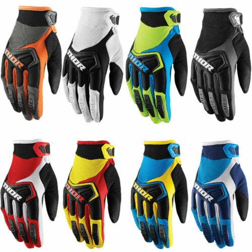 Thor New Cycling Gloves Outside Ridding Sports Shockproof MTB Long Finger Gloves