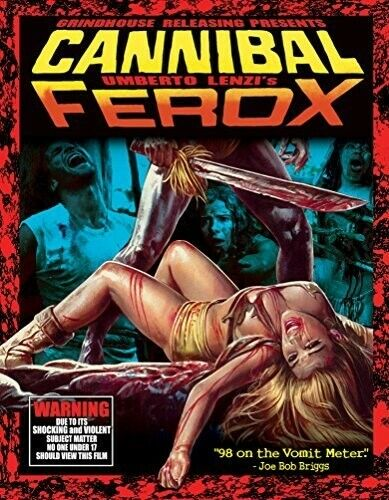 Cannibal Ferox (Woman from Deep River) (3 Disc Blu-ray + CD, Deluxe) BLU-RAY NEW