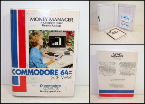 Vintage Commodore 64 Money Manager A Complete Home Finance Package Software