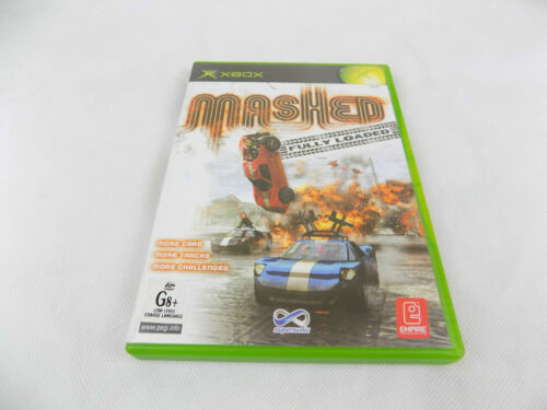 Mint Disc Xbox Original Mashed Fully Loaded PAL Free Postage
