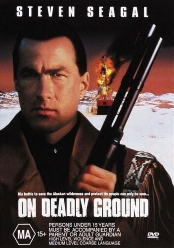 ON DEADLY GROUND New Dvd R4 STEVEN SEAGAL ***