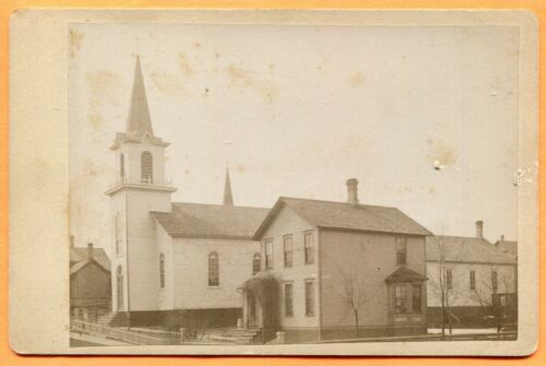 Manistee, MI, Portrait of Our Saviour's Lutheran Church, by Hanselman, ca 1880s