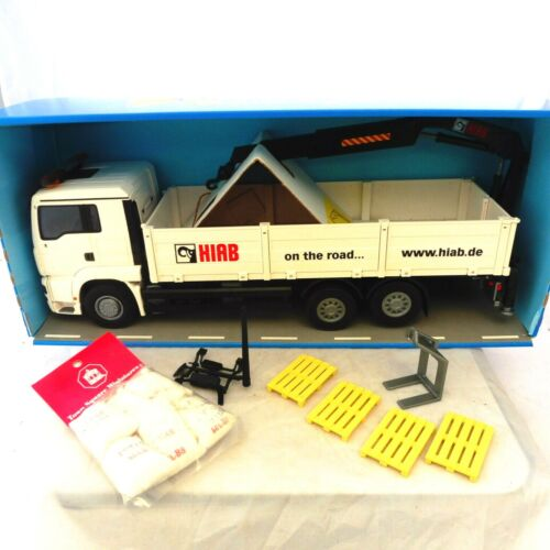 CAMION MINIATURE 1/25 MAN TG-A DROPSIDE TRUCK NEUF BOITE LIMITED EDITION