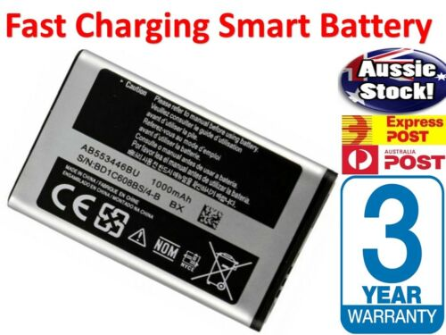 NEW Mobile Phone Battery 1000Mah 3.7v Samsung SGH-A411 A412 A401 B100 i320