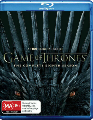 GAME OF THRONES Season 8 Final : NEW Blu-Ray