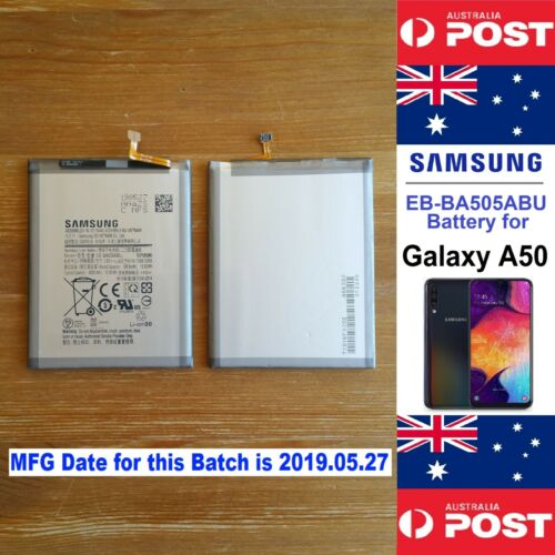 Samsung EB-BA505ABU Battery for Galaxy A50 4000mAh SM-A505F - Local Seller