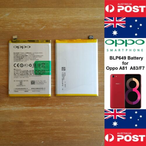BLP649 GENUINE Battery for OPPO A81  A83/F7  3180mAh Good Quality - Local Seller