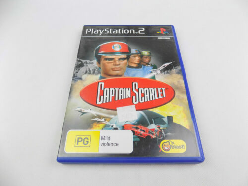 Mint Disc Playstation 2 Ps2 Captain Scarlet  Free Postage