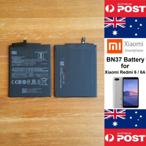 GENUINE Xiaomi Redmi 6 / 6A  Battery BN37  3000mAh Good Quality - Local Seller