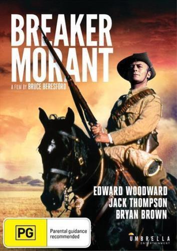 BREAKER MORANT DVD ( BRYAN BROWN - JACK THOMPSON ) NEW AND SEALED