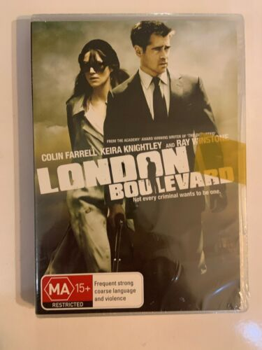 London Boulevard - (DVD Pal 2012) (NEW & SEALED) Keira Knightly, Colin Farrell
