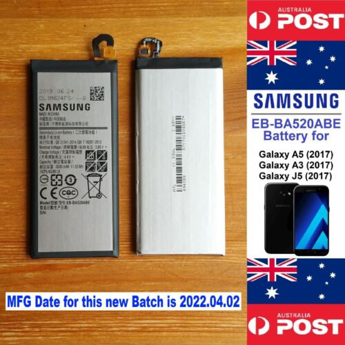 Samsung EB-BA520ABE Battery for Galaxy A5(2017), A3(2017), J5(2017) 3000mAh