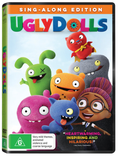 Ugly Dolls DVD R4 New & Sealed
