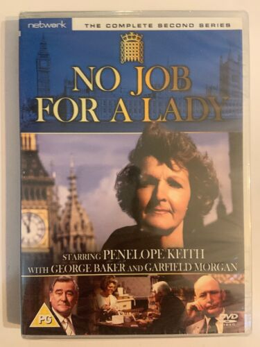 No Job For a Lady - The Complete Second Series [DVD] New And Sealed - 2/Pal