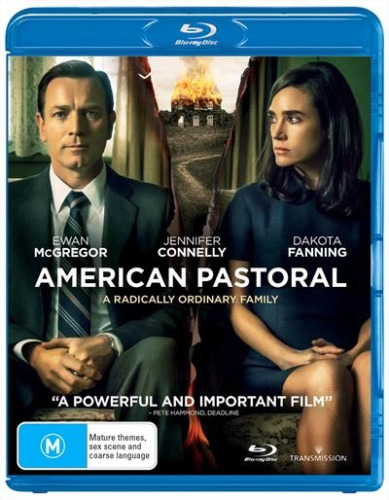 American Pastoral (Blu-ray, 2018) NEW