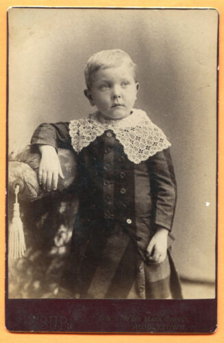 Middletown, NY, Portrait of a Little Boy, by Jessup, circa 1880s