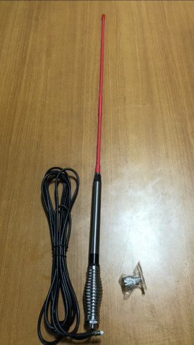 UHF FIBREGLASS PINK 6.5DBi ANTENNA+4.5M CABLE  TO SUITS MOST UHF CB RADIO BRANDS