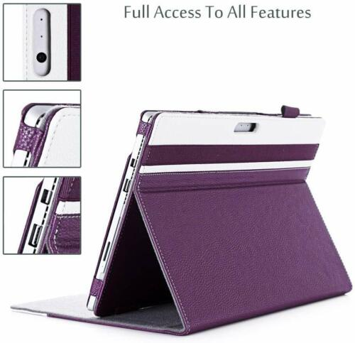 CASE for Microsoft Surface Pro 7/6/4/3 Pro LTE/ Compatible Type Cover Keyboard