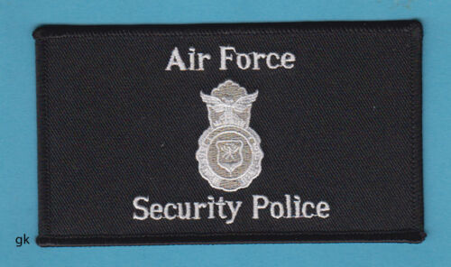 US AIR FORCE SECURITY POLICE SHOULDER PATCHAir Force - 48823