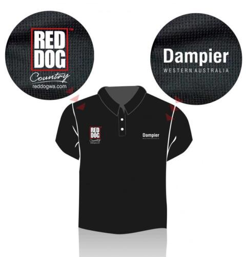 Red Dog Dampier Polo Shirt - size 3XL