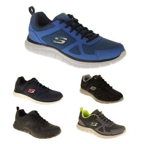 Mens SKECHERS Sport Memory Foam Lace Up Fitness Running Trainers UK Sz Size 6-13