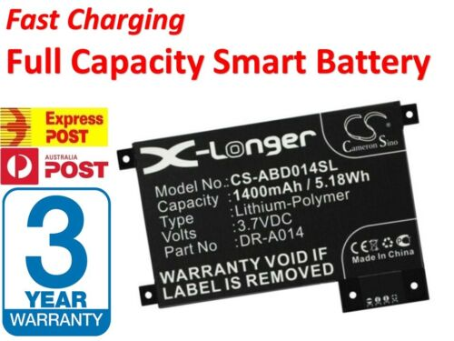 Fast Charge Battery For Amazon Kindle Touch D01200  DR-A014 S2011-002-A -AU