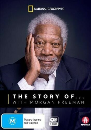 The Story Of... With Morgan Freeman (DVD, 2019, 5-Disc Set) brand new sealed!