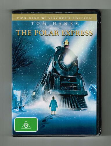The Polar Express Dvd 2-Disc Edition Brand New & Sealed