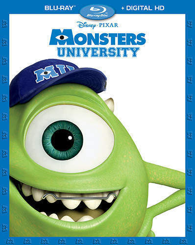 Monsters University (2 Disc) BLU-RAY NEW